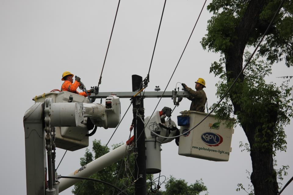 Outage Center | Garland Power & Light